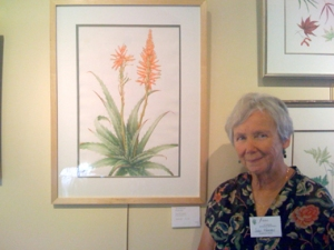 Joan with Krantz aloe