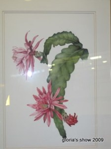 Gloria Whea-Fun Teng's Botanical Painting
