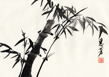 Bamboo, by Gloria Whea-Fun Teng, © 2009