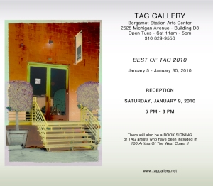 TAG show invitation
