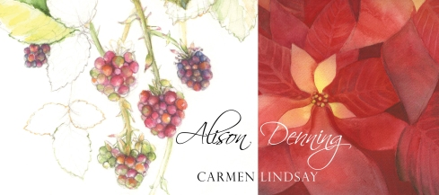 Alison Denning and Carmen Lindsay Exhibition Announcement