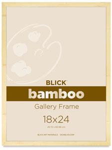 Dick Blick Bamboo Gallery Frames