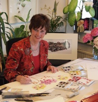 Anita Walsmit Sachs in her studio. © Anita Walsmit Sachs