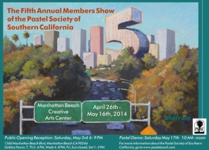 The Pastel Society of Southern California, Fifth Annual Members Show