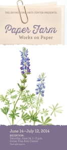 Lupinus succulentus, or Foothill Lupine, watercolor by Joan Keesey, © 2013.