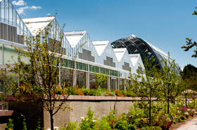 The Greenhouse Complex at the Denver Botanic Gardens. Photography © Scott Dressel-Martin