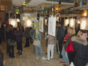 """The """"Vernissage,"""" Gallery opening exhibition, photo by Jan Clouse, © 2015, all rights reserved."""