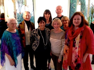 Leslie Walker, Carole Schumaker, Ana Brito, Kiloran McRae, Jan Clouse, Charles Clouse, Jane Maycock, Margaret Best, photo courtesy of Masseria Montenapoleone, © 2015, all rights reserved.