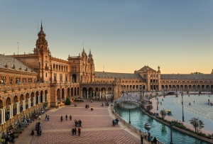 Plaza de Espana, Seville, © Quench Travel.