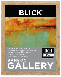 Blick Art Materials Bamboo Gallery Frame. Image courtesy of Blick Art Materials website.