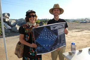 Mirror Garden Host Blueprint Holders from Long Beach (photo Amanda Wiles)