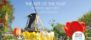 """The Art of the Tulip"" Select River Cruises with Margaret Best, Artist-in-Residence."