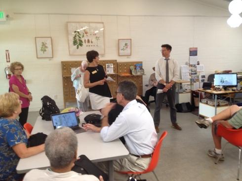 Janice Sharp introduces Matt Ritter.