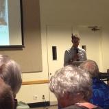 Matt Ritter giving his keynote presentation.