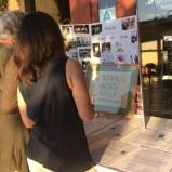 Tania Marien looks at the BAGSC history display.