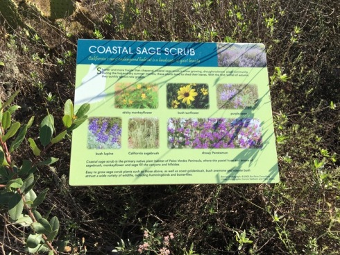 Signage along the Marsh tour. Photo by Jude Wiesenfeld, © 2018.