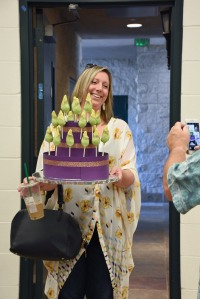 The Corpse Flower inspires creativity. Lindsay Brennan made (delicious!) Corpse Flower Cake Pops and brought them to Jim Folsom's Orchid Lecture for BAGSC members.