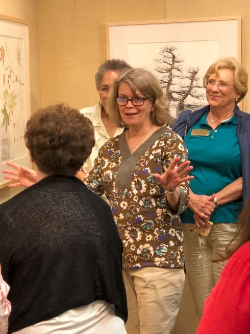 "Carol Woodin talking about the artwork in the ""Out of the Woods"" exhibition."
