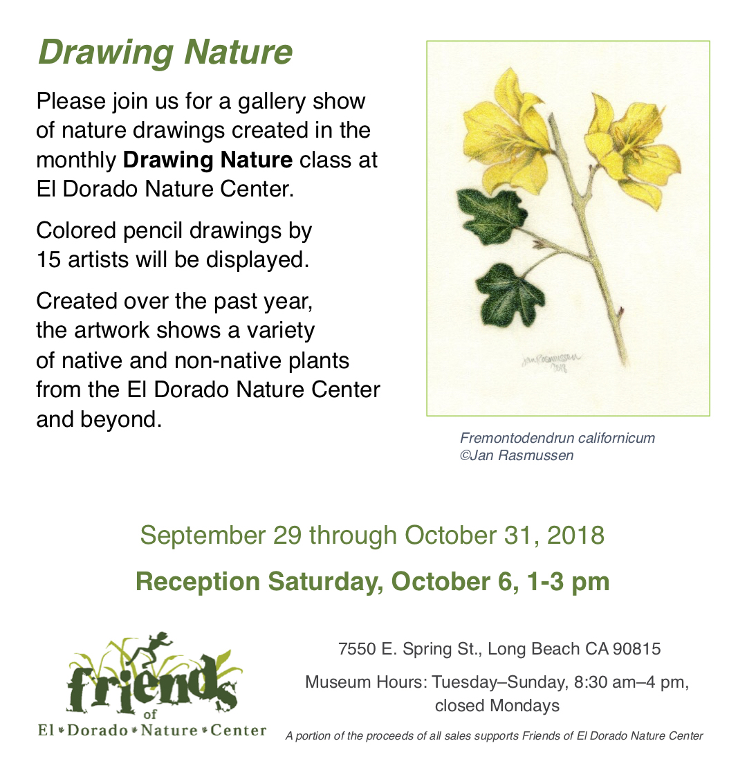 """Drawing Nature"""" Colored Pencil Exhibition 