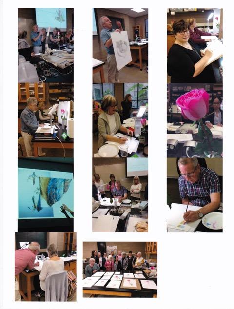 Snapshot's from Robert McNeil's workshop.
