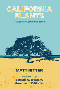 """California Plants,"" by Dr. Matt Ritter, book cover."