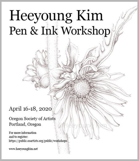 Heeyoung Kim Pen & Ink Workshop